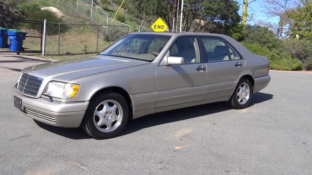 1997 mercedes benz s320 w140 s class luxury sedan 1 owner for 1997 mercedes benz s320
