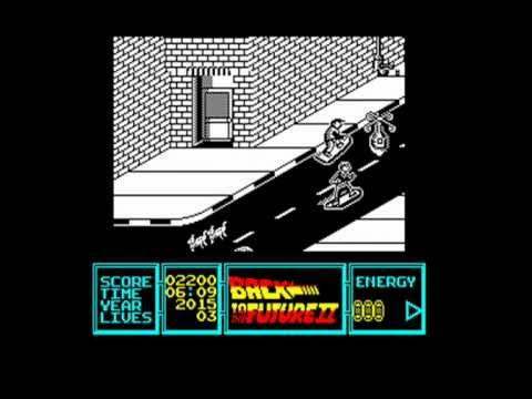 [AMSTRAD CPC] Back To The Future Part II - Longplay & Review