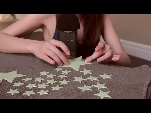 [ASMR]★Tingle Tuesdays★ Glow In the Dark Stars ~ Unpacking, Playing & Whispering