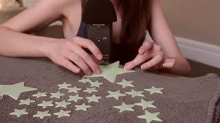 [ASMR]★Tingle Tuesdays★ Glow In the Dark Stars ~ Unpacking, Playing & Whispering