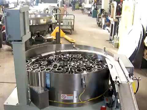Heavy Duty Centrifugal Feeder for Bearing Components