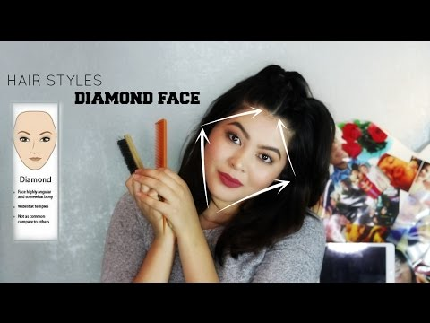 haircut for diamond shaped face hairstyles for shaped faces 5056 | hqdefault