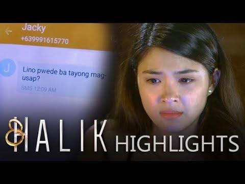Halik: Jade reads Jacky's text message to Lino   EP 30