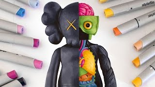 Drawing Kaws Dissected Companion