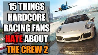 15 Things Hardcore Racing Fans Hate About The Crew 2