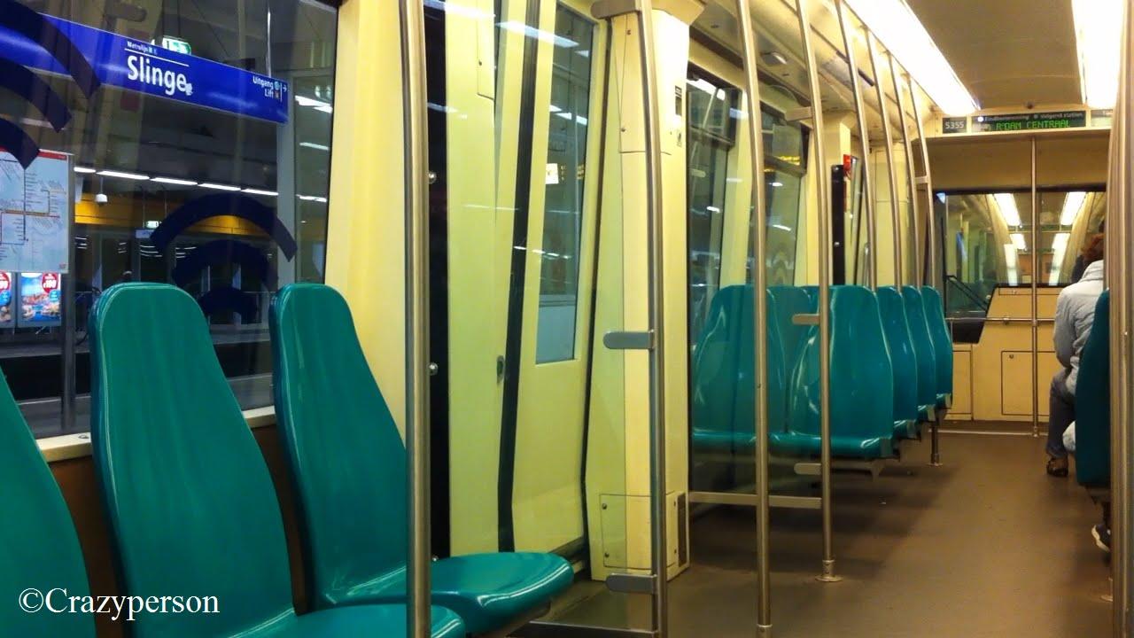 Ret metro rit rijtuig 5355 met origineel interieur slinge for Metro interieur