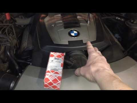 BMW E65 E66 How To Replace Upper Timing Chain Tensioner On BMW N62 Motor