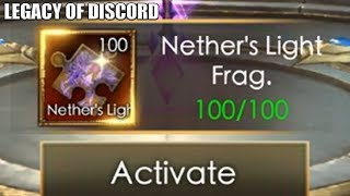 Legacy of Discord: Shiina Activate Nether