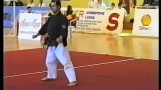 Kata SHODAN SAMURAI from Okinawa Te Tai Karate Do by Kapsalis Apostolos