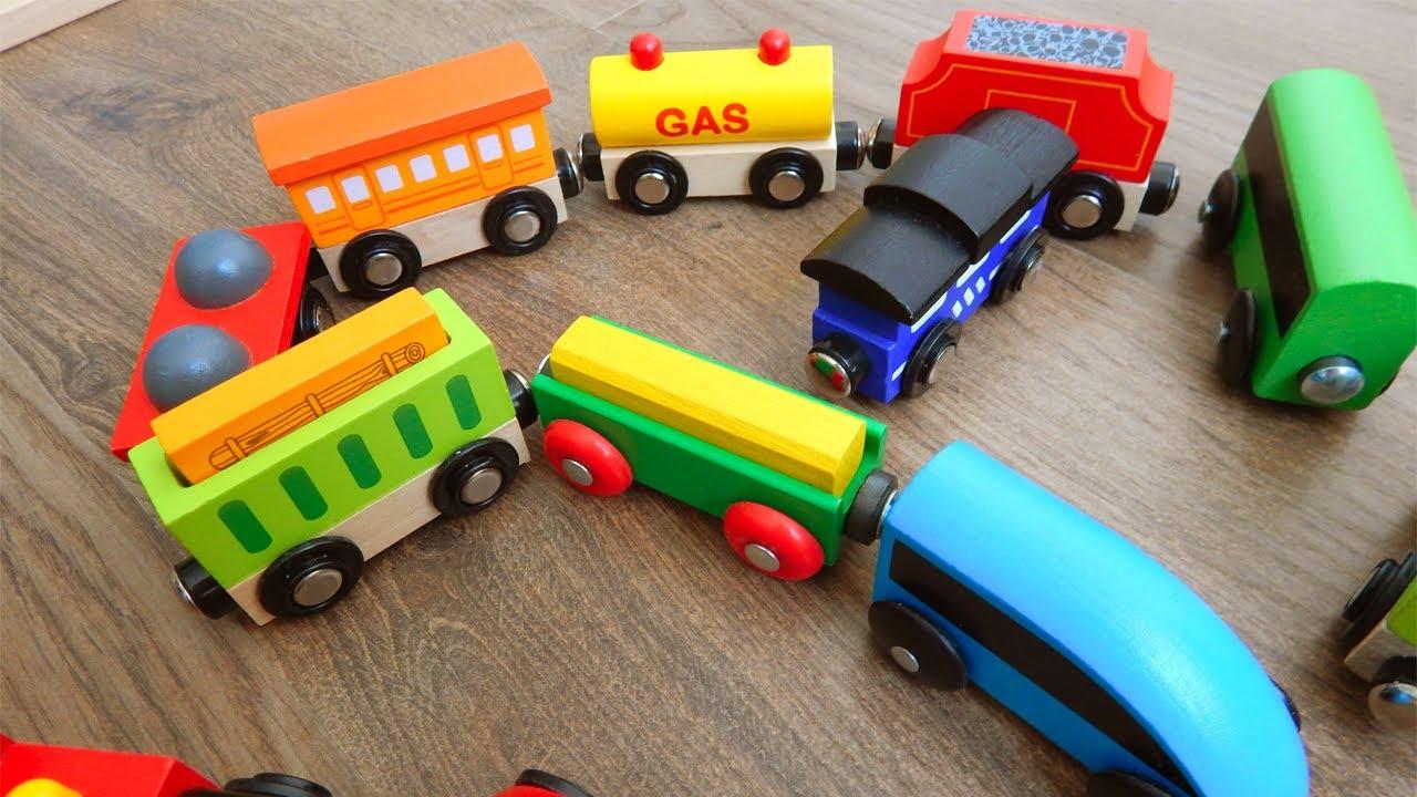 Мультик про машинки та паровозики. Вивчаємо англійські букви  Розвиваючі мультфільми українською