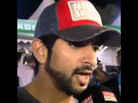 Sheikh Hamdan interview with dubai sports