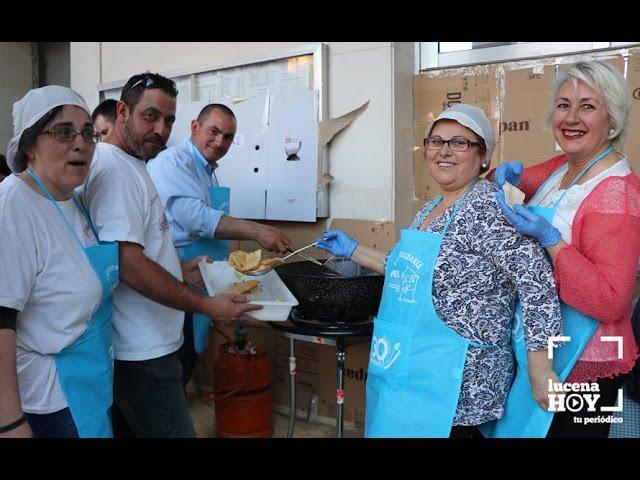 VÍDEO: ¡A las ricas sopaipas solidarias! Éxito de convocatoria de la iniciativa de Al-Yussana en favor de ANNES