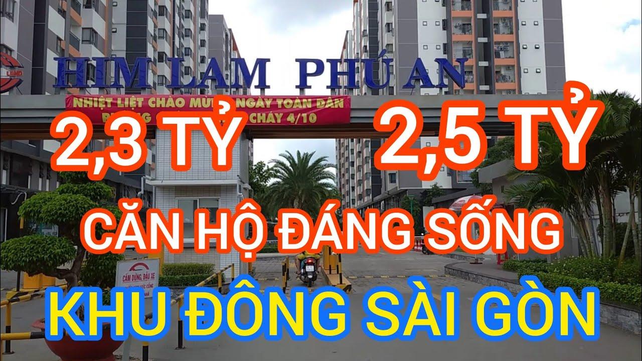Review nội khu Him Lam Phú An – Căn Hộ Đáng Sống Giá 2,2-2,5 Tỷ cho Gia Đình Trẻ Năng Động Sài Gòn