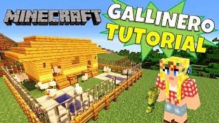 Minecraft: Como hacer un Gallinero (henhouse) Super Tutorial.