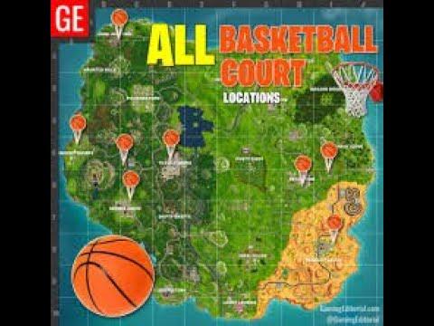Fortnite | All Basketball Courts | Season 5 Week 2 Challenge