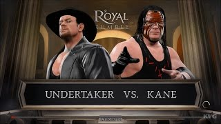 WWE 2K17 - Undertaker vs Kane | Gameplay (HD) [1080p60FPS]