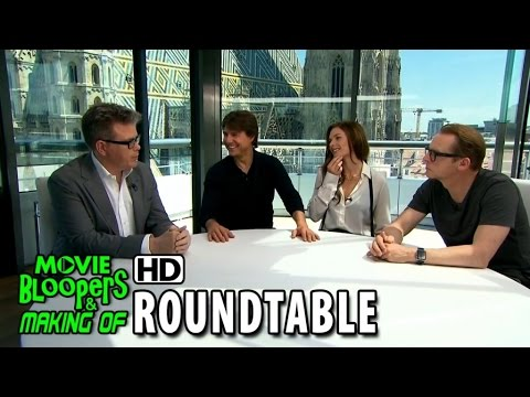 Mission: Impossible - Rogue Nation (2015) Roundtable - Tom Cruise and Christopher McQuarrie