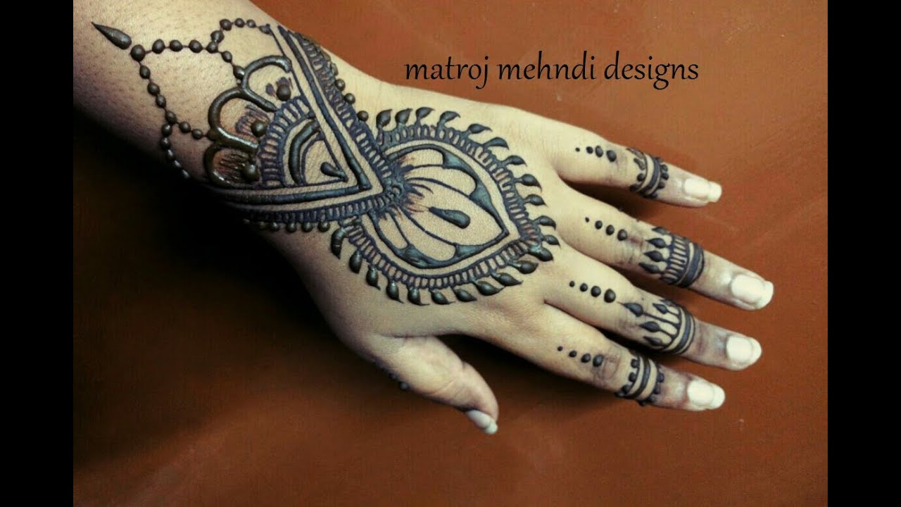 Mehndi Henna Designs S : Unique stylish latest easy simple mehndi designs step by