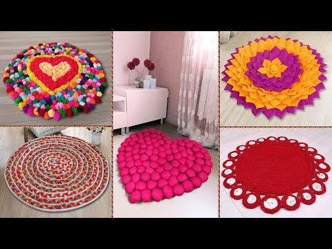 7 Beautiful DIY Doormat Making at Home !!! Handmade Things