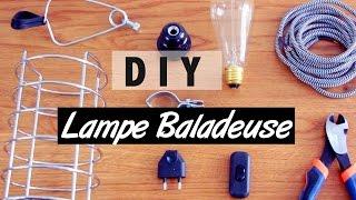 DIY | Fabriquer une lampe de chevet - l