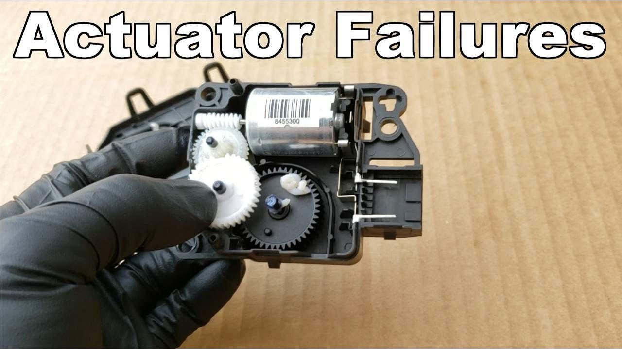 Blend Door Actuator Failure A Look Inside (Dodge Blend Door Actuator)
