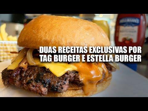 Estella E Tag Burger: Receitas Exclusivas Para The Burger League By Hellmann's