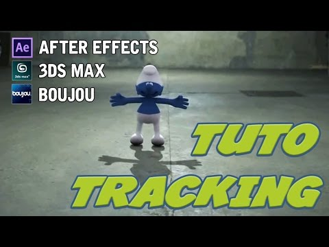 [TUTO] COMMENT FAIRE UN TRACKING || BOUJOU, 3DS MAX ET AFTER EFFECTS