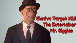 """Hitman"" Walkthrough (Silent Assassin), Elusive Target #26 - The Entertainer (Mr. Giggles)"