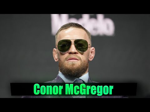 NEW Conor McGregor Media Scrum 4 Days from Mayweather Fight