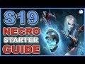 Diablo 3 Season 19 Necromancer Starter Guide (D3 Necro Patch 2.6.7)