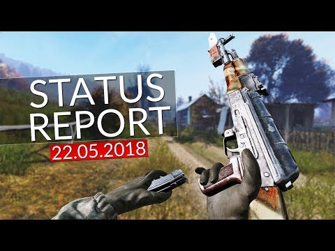 ◤ ROAD TO BETA! Status Report 22.05.2018 | DAYZ 0.63 | German Gameplay - Ricoo
