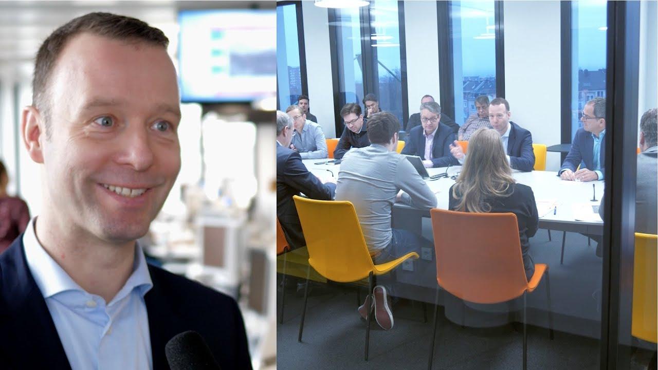 """Das """"Handelsblatt"""" 2018: Chefredakteur Sven Afhüppe im Strategie-Gespräch"""