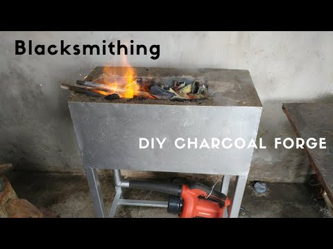 Blacksmithing - Building a simple DIY Charcoal Forge