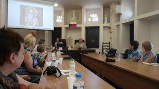Международный форум писателей на о.Тинос 2016 часть 1