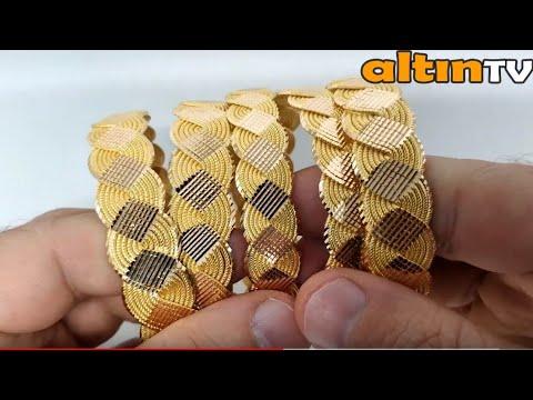 Latest Gold Bracelet Designs 2018