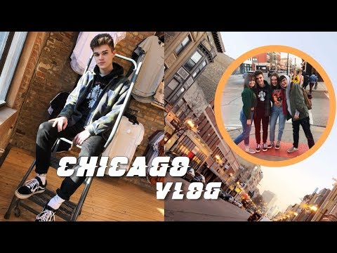 CHICAGO VLOG - spend the day with me