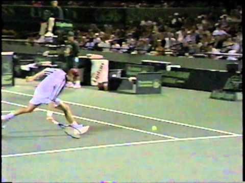 "Andre Agassi - 1996 ""Trick Shot"""