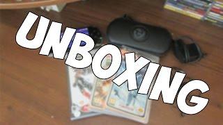 Unboxing/Распаковка - PlayStation Portable 3008
