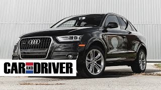 2015 audi q3 2 0t quattro review in 60 seconds   car and driver