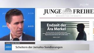 Ein Blick in die neue JF (48/17): Merkels Endzeit
