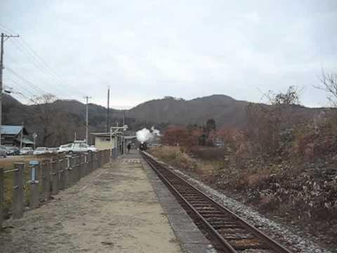 D51-498 SLばんえつ物語号 in 尾登駅