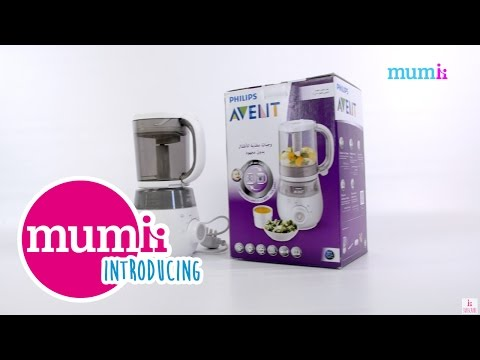 Introducing... Philips Avent 4 in 1 Healthy Baby Food Maker