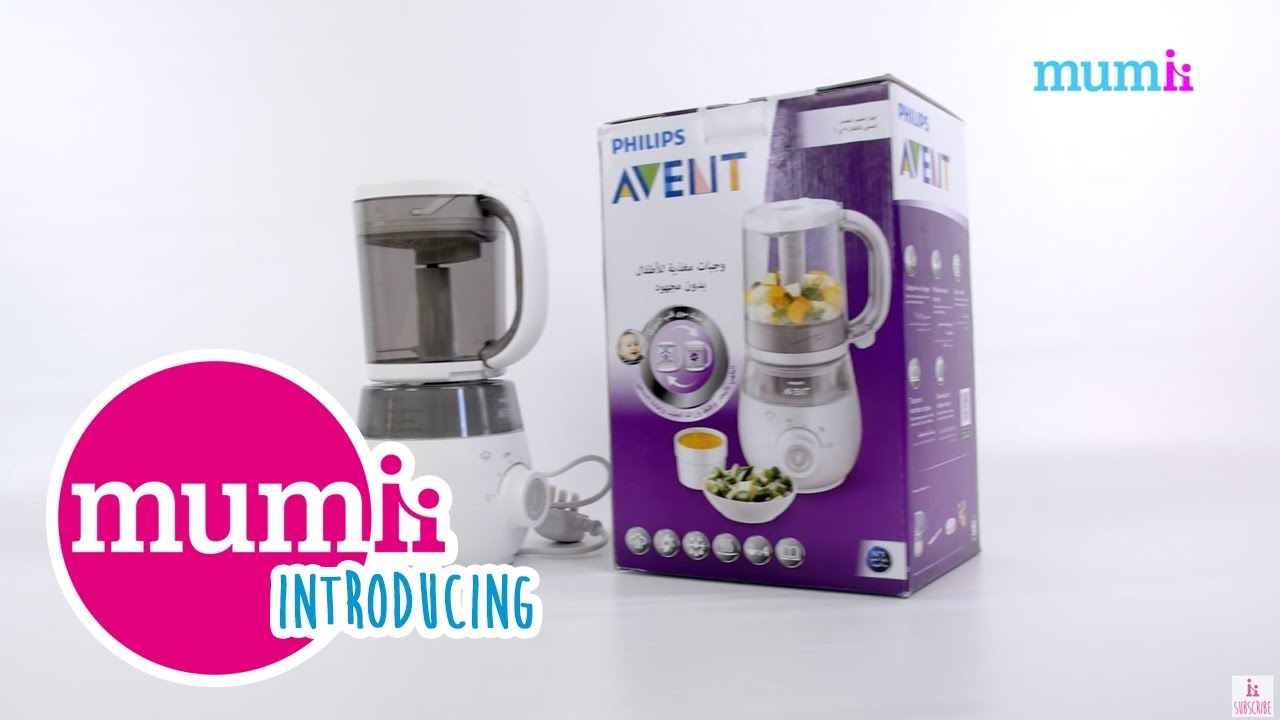 introducing philips avent 4 in 1 healthy baby food. Black Bedroom Furniture Sets. Home Design Ideas