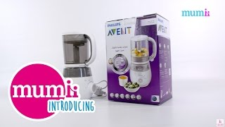 Introducing Philips Avent 4 In 1 Healthy Baby Food Maker