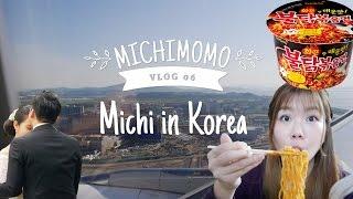MICHIMOMO VLOG EP. 6 || Michi in Korea & SAMYANG CHALLENGE || Michiminutes