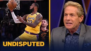 Skip Bayless gives LeBron James an