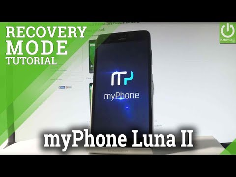 MyPhone Luna II RECOVERY MODE / Enable Android Recovery Menu