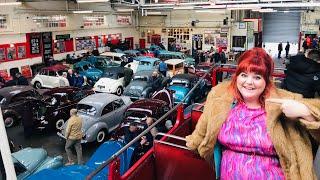 IDRIVEACLASSIC show report: Manchester Bus Museum Morris Minor Show February 2020