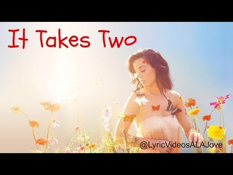 It Takes Two - Katy Perry (Lyric Video)  Watch in HD!!