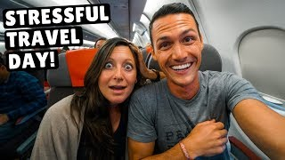 CRAZY 27 Hour Travel Day | MEXICO to JORDAN | 4 Flights 4 Lounges